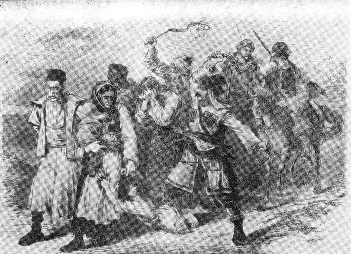 Башибузуки зверски убили тысячи болгарских женщин и детей./Фото: histrf.ru